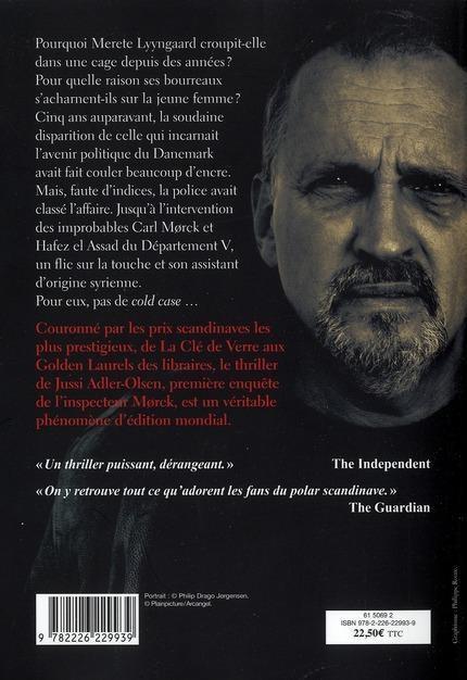aaaaaolsenlivre Roman policier - Adler Olsen - thriller scandinave dans BLOG